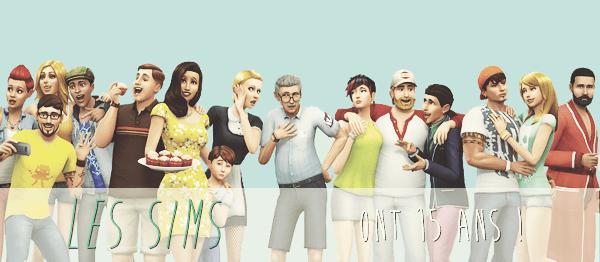 15 ans de Sims