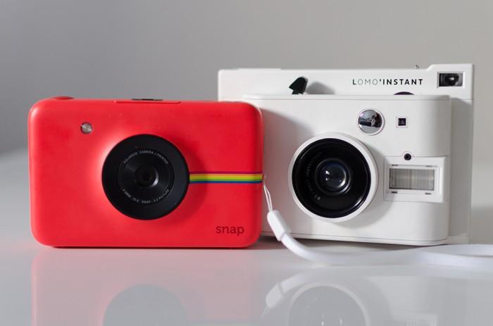 Lomo Instant VS Polaroid Snap