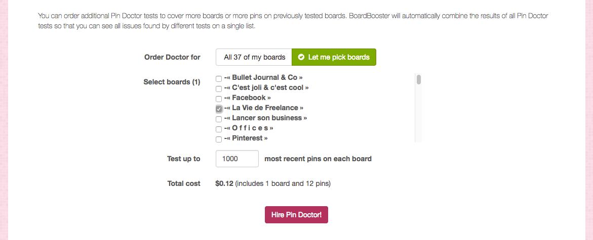 Boardbooster pour Pinterest