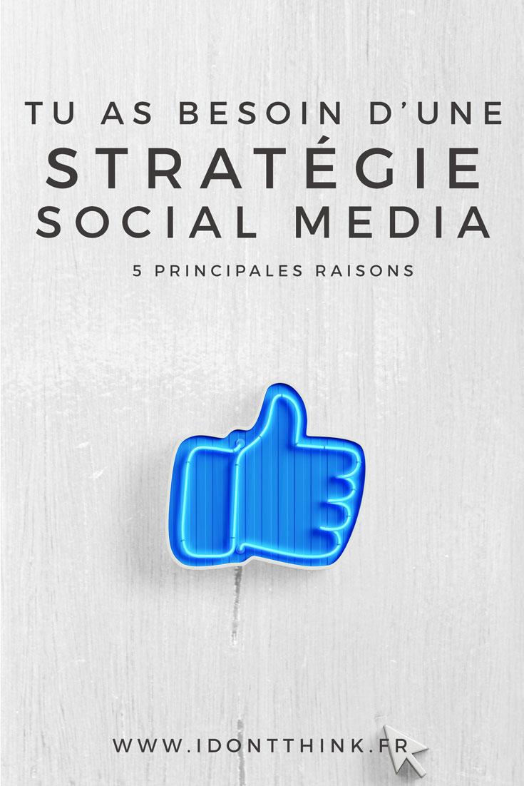 Je te donne les 5 principales raisons pour lesquelles tu as besoin d'une stratégie sur les réseaux sociaux pour ton business !