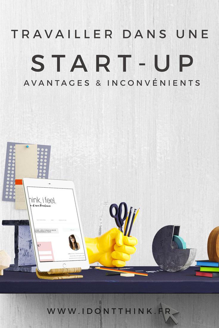 Que tu sois en Freelance ou salarié de la start-up, tu vas rencontrer beaucoup d'avantages mais aussi beaucoup d'inconvénients !
