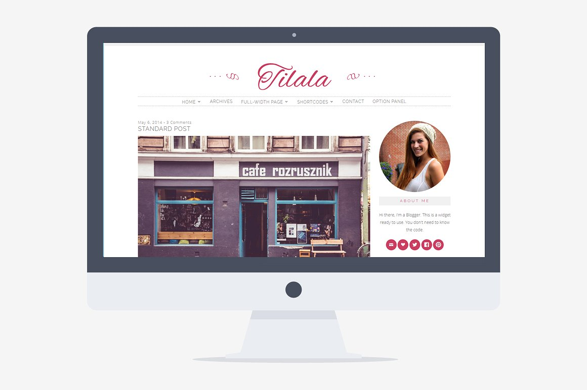 Tilala WordPress Theme