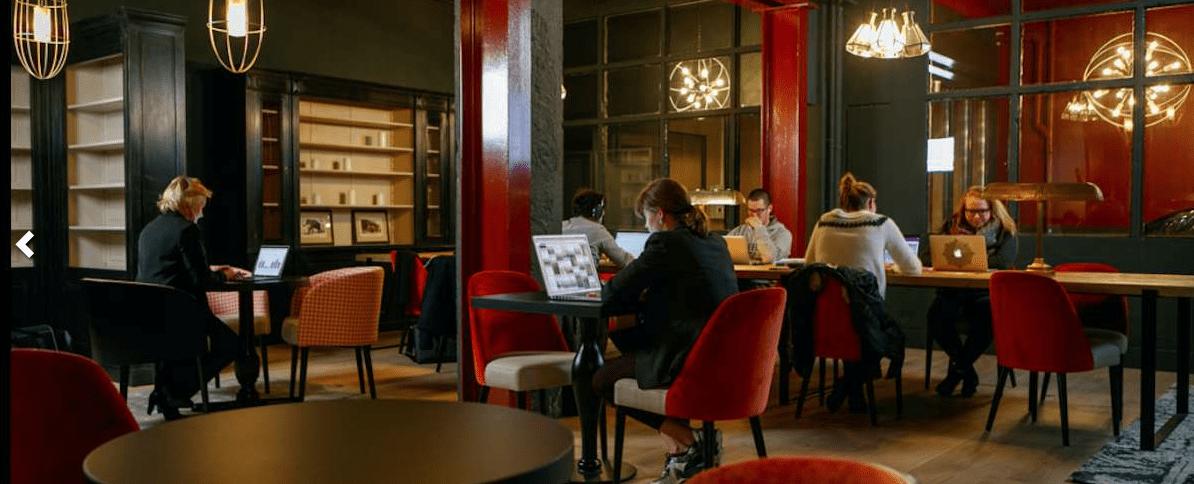 Espace de coworking à Rouen