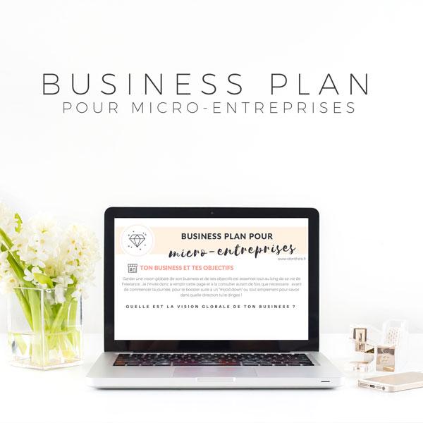 Business Plan pour ME
